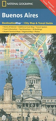 Buenos Aires By National Geographic Maps (EDT)